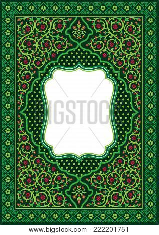 This Vector image use for Book Cover or inside book cover special for Prayer book