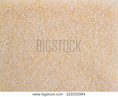 Texture background. Dry small gelatin granules or powder.