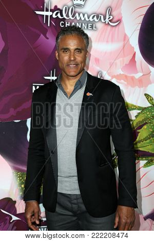 LOS ANGELES - JAN 13:  Rick Fox at the Hallmark Channel and Hallmark Movies and Mysteries Winter 2018 TCA Event at the Tournament House on January 13, 2018 in Pasadena, CA