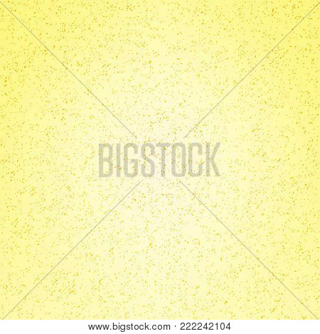 Yellow speckled background. Vector modern background for posters, brochures, sites, web, cards, covers, interior design