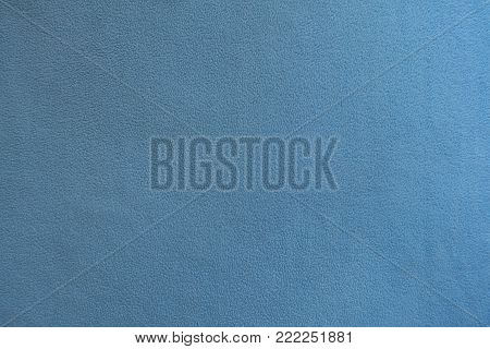 Light blue polar fleece fabric from above