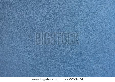 Texture of sky blue polar fleece fabric