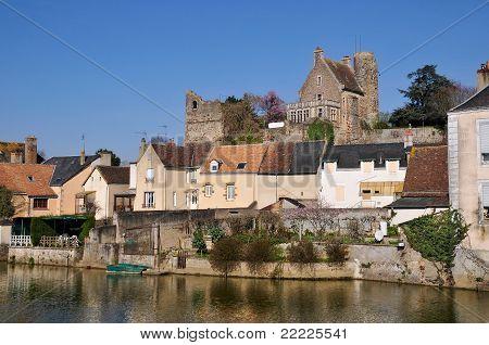 Beaumont sur Sarthe in France
