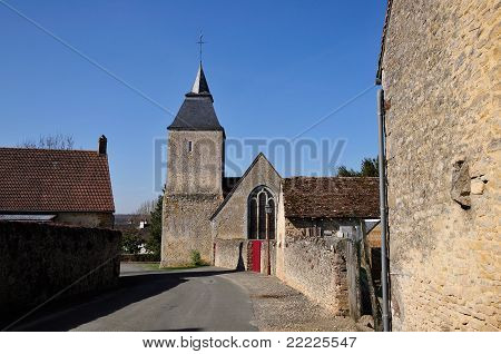 Village of Bourg le Roi in France