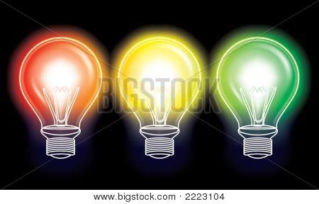 Redyellow Greentrafficlight