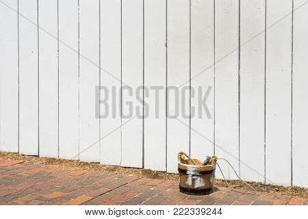 Painting A Picket Fence