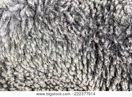 faux fur as background . Photo of an abstract texture