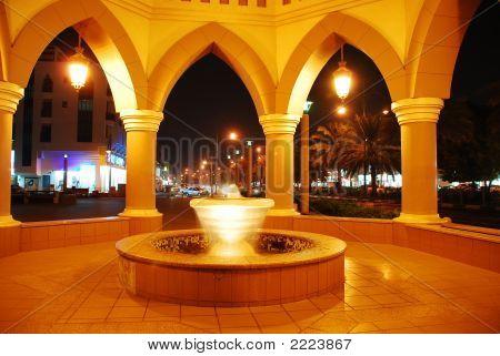 Al Ain City At Night