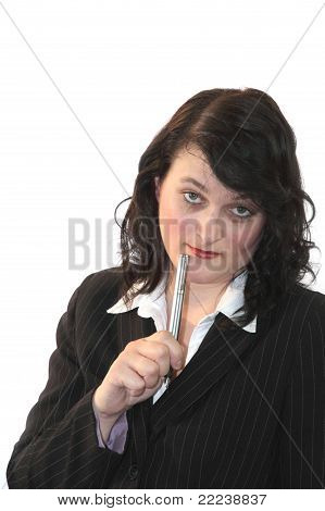 Business Woman In Meeting 02