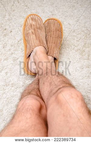 Relax With Slippers