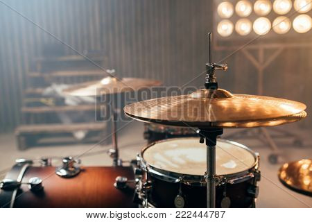 Drum-kit, drum-set, percussion instrument, drumkit
