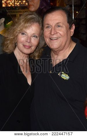LOS ANGELES - JAN 10:  Marta Kristen, Burt Ward at the Batman '66 Retrospective and Batman Exhibit Opening Night at the Hollywood Museum on January 10, 2018 in Los Angeles, CA