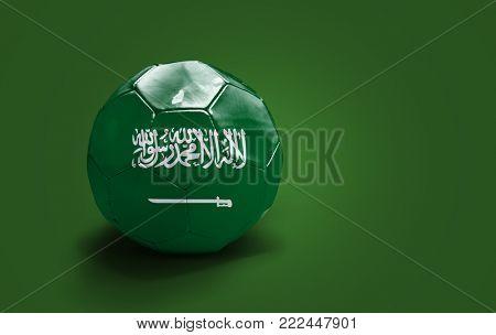 Saudi Arabian soccer ball