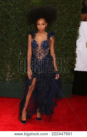 LOS ANGELES - JAN 15:  Niatia Jessica Kirkland, Lil Mama at the 49th NAACP Image Awards - Arrivals at Pasadena Civic Center on January 15, 2018 in Pasadena, CA