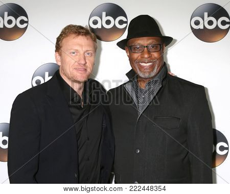 LOS ANGELES - JAN 15:  Kevin McKidd, James Pickens Jr at the 2018 NAACP Image Awards at Convention Center on January 15, 2018 in Pasadena, CA