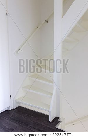 Simple Hallway In A Dutch House