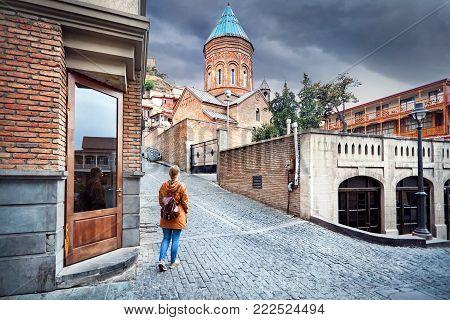 Tourist In Tbilisi