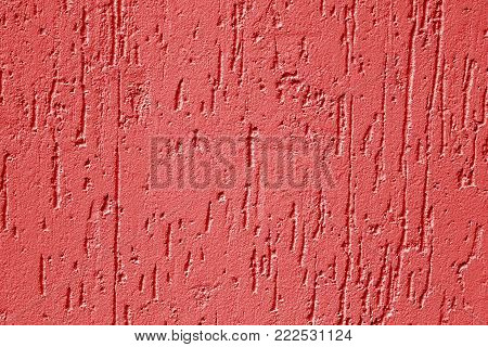 Asphalt Texture In Pink Color.