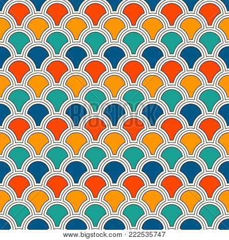 Minimalist Abstract Background. Simple Modern Print With Mini Triangles. Seamless Pattern With Geome