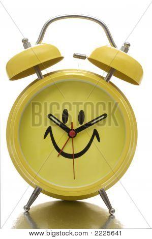 Glückliches Gesicht Clock