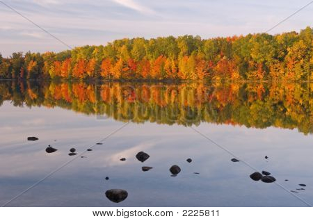 Autumn Moccasin Lake