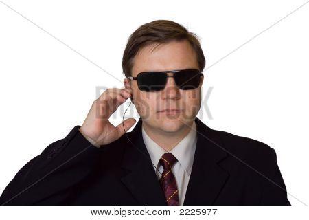 Bodyguard In Sunglasses