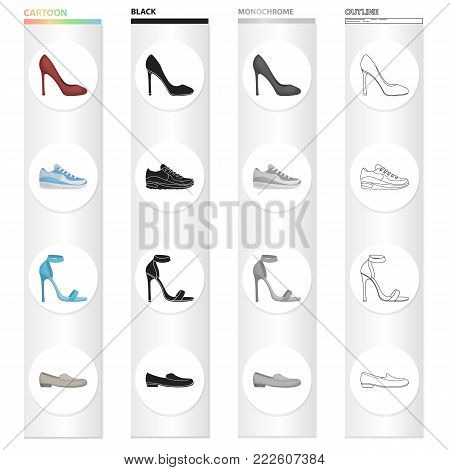 Industry, production, textiles and other  icon in cartoon style.Color, firm, binding, icons in set collection. poster