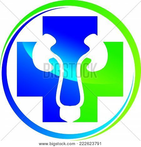 Urology Care Logo Design Template Vector Isolated
