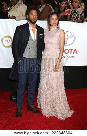 LOS ANGELES - JAN 15:  Jussie Smollett, Jurnee Smollett-Bell at the 49th NAACP Image Awards - Arrivals at Pasadena Civic Center on January 15, 2018 in Pasadena, CA