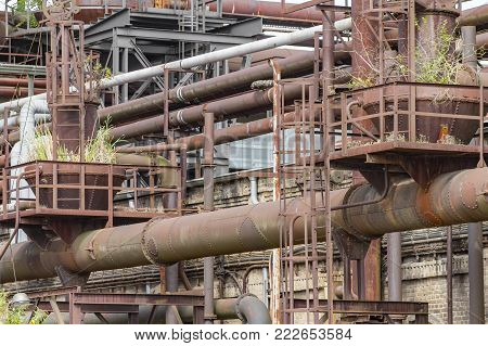 Rusty Industrial Scenery