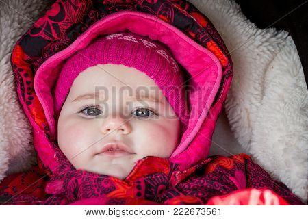 Cute Infant Baby Girl