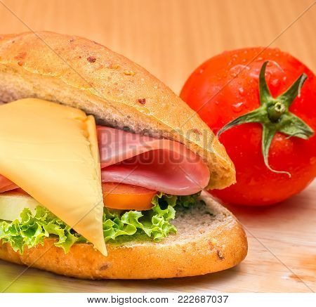 Organic Roll Means Bread Rolls And Breads