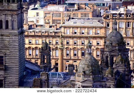 The Victorian architecture of Glasgow City Chambers