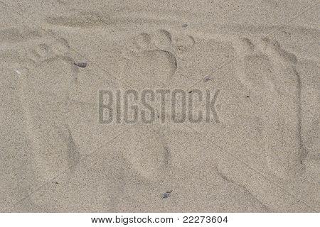 Three Footprints