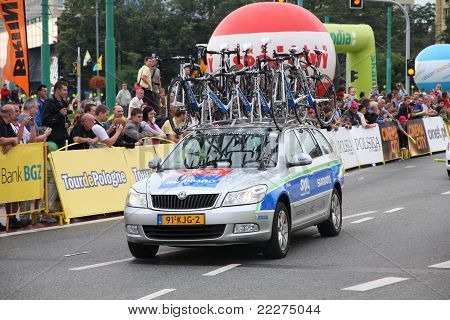 Bicycle Race Team Support