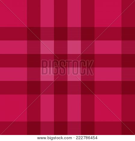 Vector color plaid pattern scottish texture textile