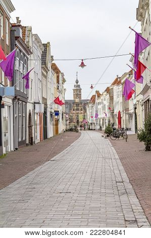 city view of Middelburg located in the dutch province of Zeeland