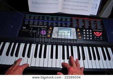 Playing Keyboard / Piano