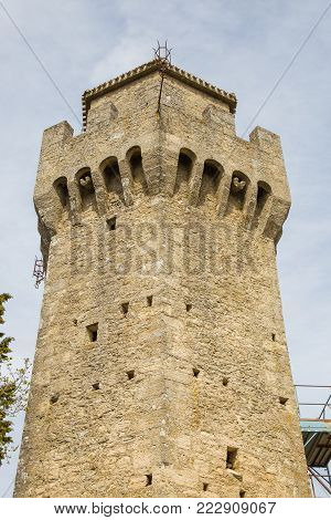 The third Tower or Montale is one of the three San Marino Towers.Republic of San Marino.