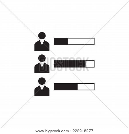election participants icon. Election element icon. Premium quality graphic design. Signs, outline symbols collection icon for websites, web design, mobile app, info graphic on white background