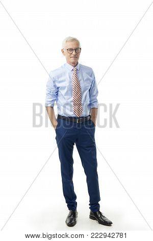 Executive Senior Professional Man Portrait