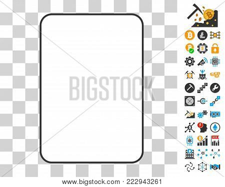 Palying Card Template pictograph with bonus bitcoin mining and blockchain images. Vector illustration style is flat iconic symbols. Designed for bitcoin ui toolbars.