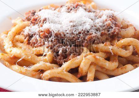Pici Pasta With Lamb Ragu