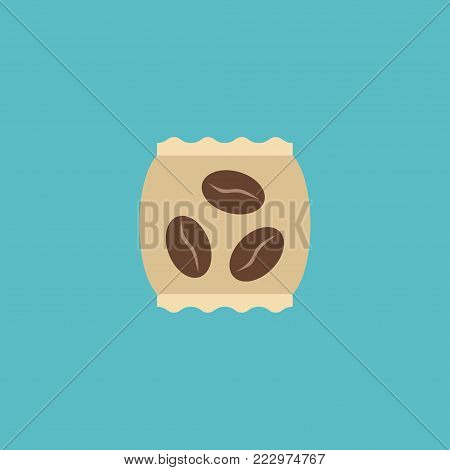 Instant icon flat element. Vector illustration of instant icon flat isolated on clean background for your web mobile app logo design.