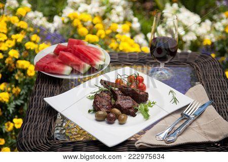 Beef Fajitas In Cast Iron Skillet