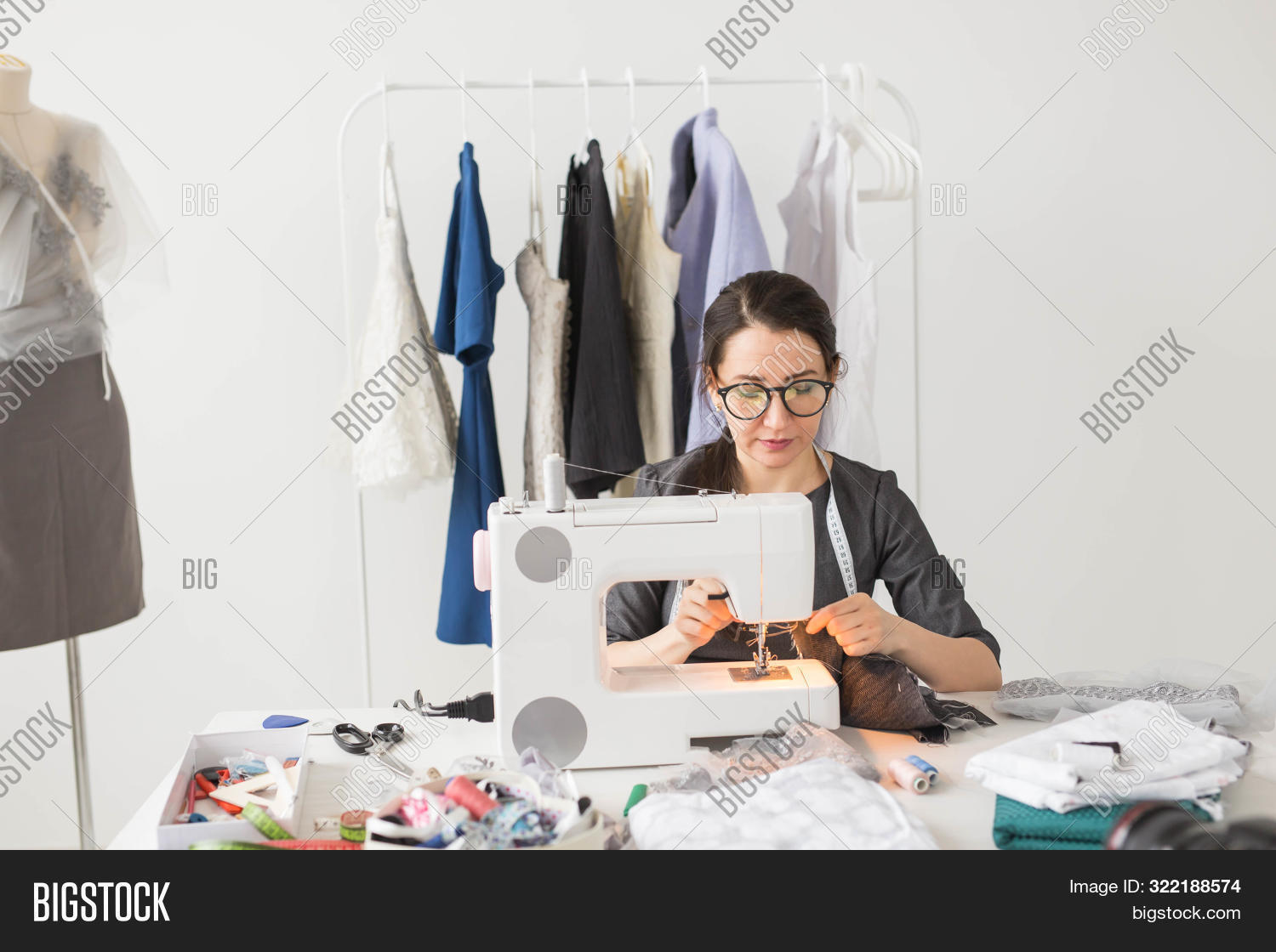 People Tailor Image Photo Free Trial Bigstock