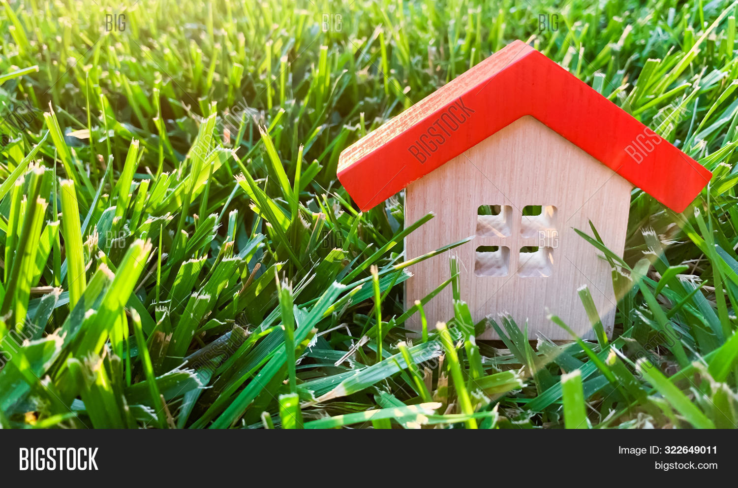 Miniature Wooden House Image & Photo (Free Trial) | Bigstock