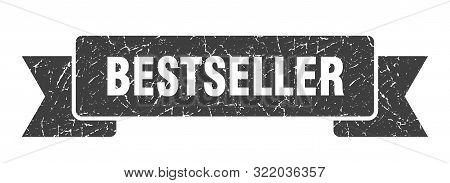 Bestseller Grunge Ribbon. Bestseller Sign. Bestseller Banner