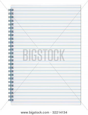 Ruled Copy-book