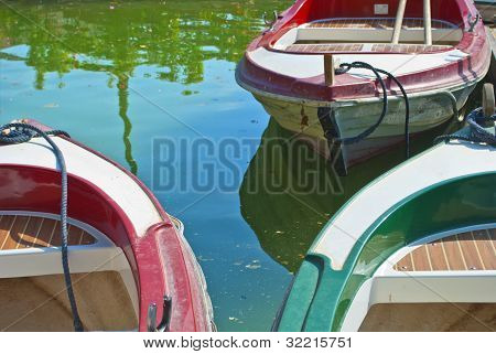 Boats In Spain Square (seville)